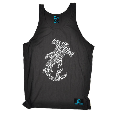 Open Water -  Hammerhead Shark Scuba Divers - VEST TOP