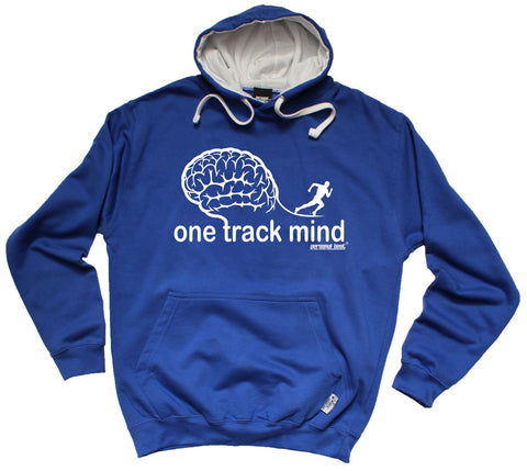 Personal Best - One Track Mind Running Hoodie Casual Funny Jogging Running Hoody