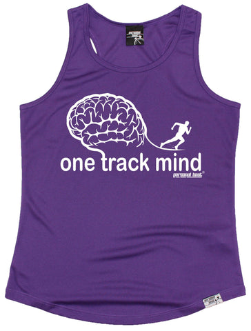 Women's Personal Best - One Track Mind Running Girlie Training Vest