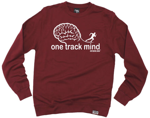 Personal Best - One Track Mind Running Sweatshirt Casual Funny Jogging Running Top