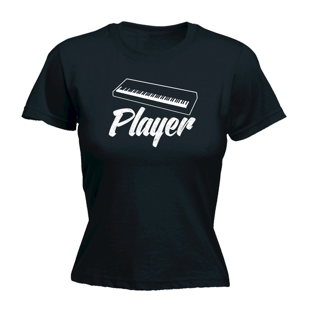 Women's KEYBOARD PLAYER - FITTED T-SHIRT
