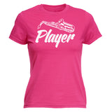 Women's SAXOPHONE PLAYER - FITTED T-SHIRT