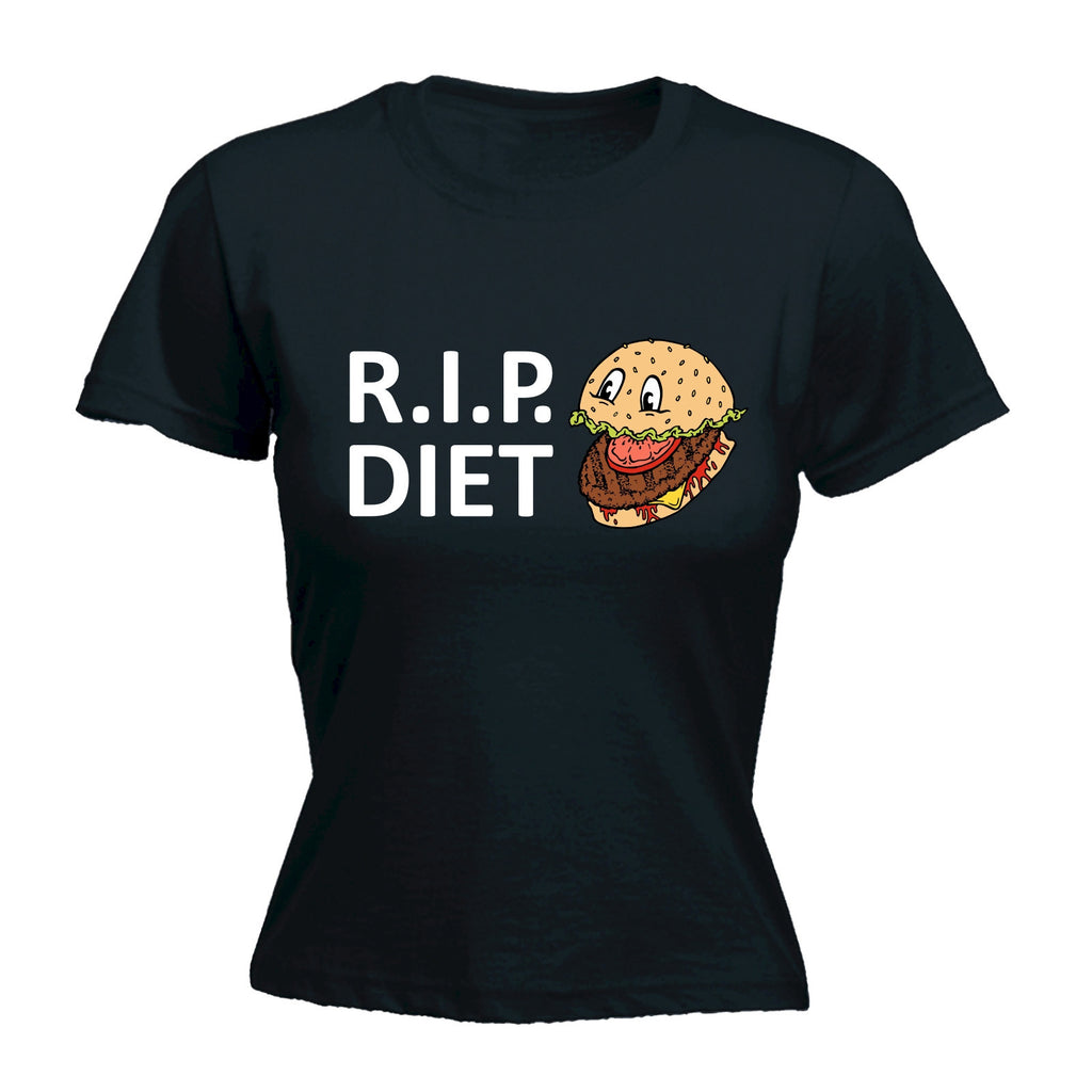 R . I . P . Diet ... Burger Design - Women's FITTED T-SHIRT