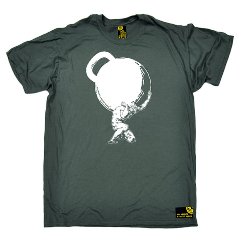 SWPS -  Men's Greek God Atlas Mythology Kettlebell T-SHIRT