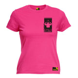SWPS Premium -  Women's Swps Protein Flexing ... Black Breast Pocket Design - FITTED T-SHIRT