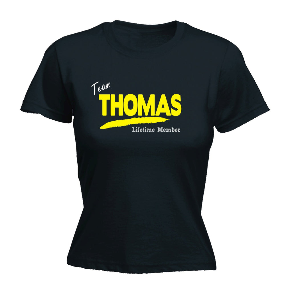 LADIES TEAM THOMAS LIFETIME MEMBER - NEW PREMIUM FITTED T-SHIRT (VARIOUS COLOURS) - S, M, L, XL, 2XL - by Slogans