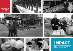 Impact Report 2020 cover image.