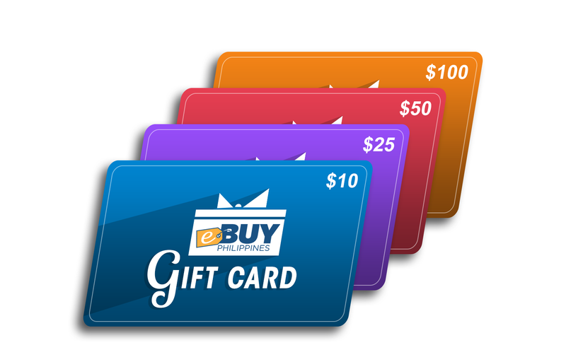 Gift Cards and eGift Cards from eBuy Philippines Online Store