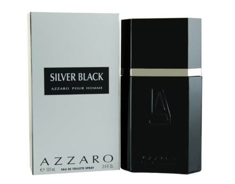 Azzaro Silver Black Pour Homme 100mL  Fragrance for Men