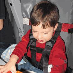 Airplane Safety Belt for Kids. Kids Fly Safe Restraint System