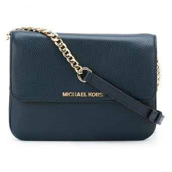 Michael Kors Bedford Crossbody Bag (Navy Blue)