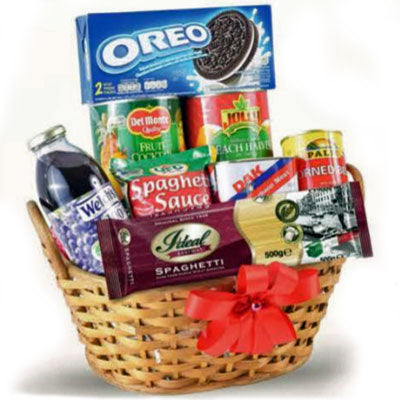 Love and Joy Christmas Gift Basket  (Hearty Treats)