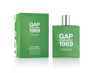 Gap Established 1969 Inspire 100mL EDT Spray Authentic Perfume Men