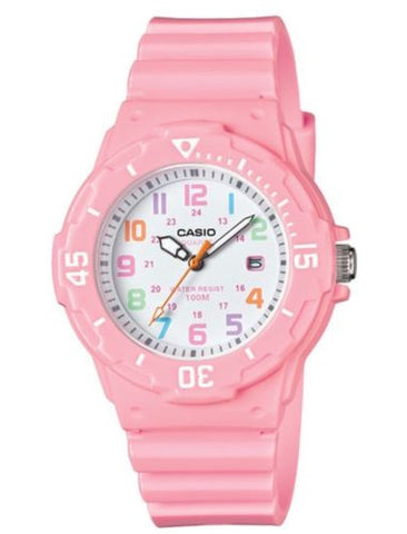 Casio Watch * LRW200H-4B2 Diver Look 100WR Candy Pink Women