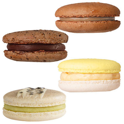 Macaron De Paris - Valhrona  (Assorted Flavor 5 - Box of 8)