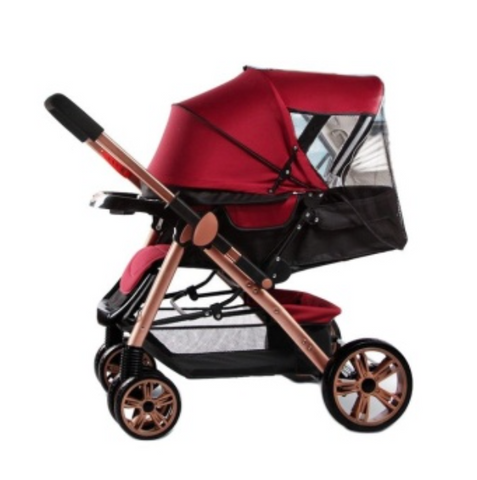 Tickle Baby Two-way Four-wheel Folding Aluminum Alloy Baby Stroller