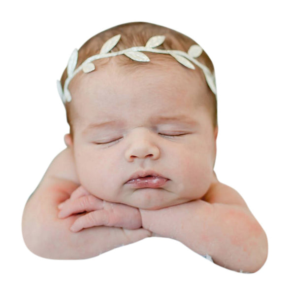 Greek Goddess Gold Headband - Headbands - AllBabyGirls - 1