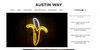 Glowing Bananas! We made Austin Way Magazine's Gift Guide for Gourmands
