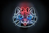 Kitten Neon Sign - Noble Gas Industries