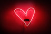 Heart Neon Sign - Noble Gas Industries