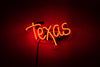 Texas Neon Sign - Noble Gas Industries