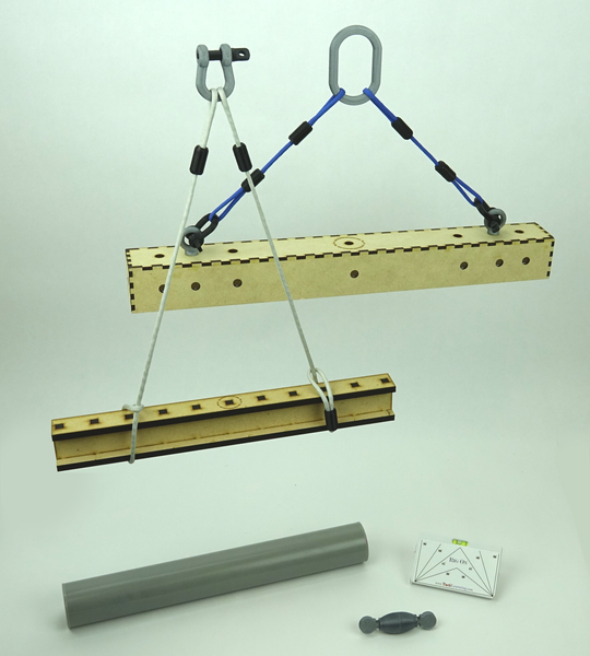 Construction Model Rigging Training System