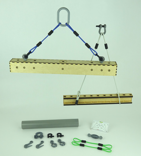 Construction Trades Model Rigging Training Kit