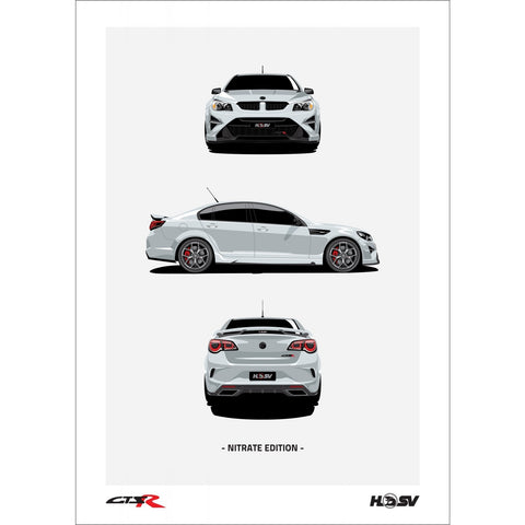 HSV GTSR Limited Edition Prints
