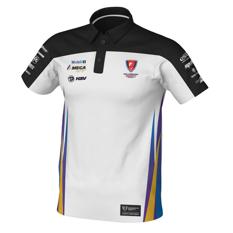 2019 MMR TEAM POLO WHITE