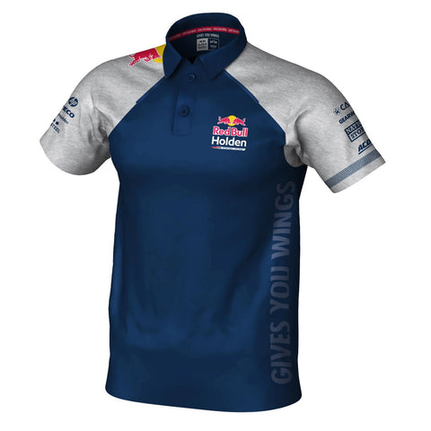 2019 RBHRT POLO GREY/NAVY