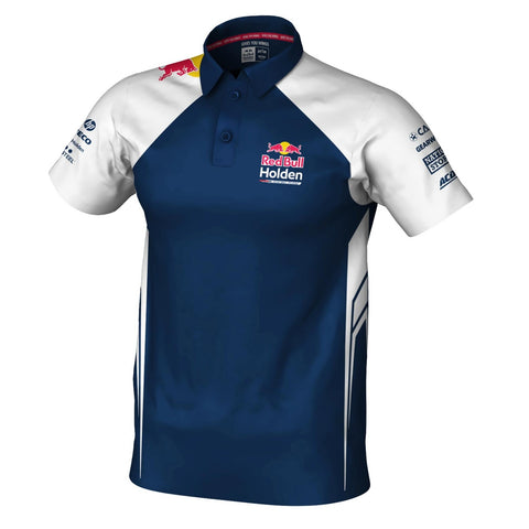 2019 RBHRT POLO WHITE/NAVY