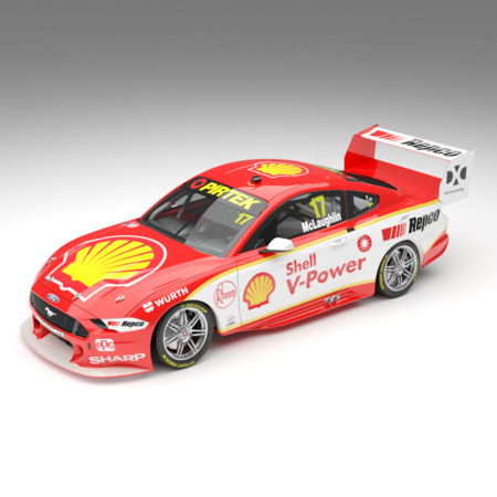 1:18 / 1:43 / 1:64 2019 Shell V-Power Racing Team #17 Ford Mustang GT Supercar: Driver Scott McLaughlin