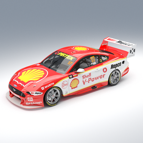 Pre-order 1:43 Shell V-Power Racing Team #17 Ford Mustang GT Supercar 2019 Bathurst Winner