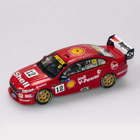 1:43 Shell V-Power Racing Team #12 Ford FGX Falcon 2018 Sandown 500 Retro Round