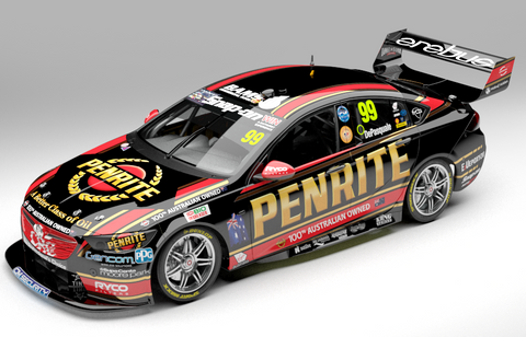1:18 Penrite Racing #99 Holden ZB Commodore Supercar - 2019 VASC Season