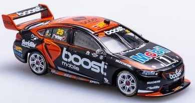 1:64 HOLDEN ZB COMMODORE - MOBIL 1 BOOST MOBILE RACING #25 JAMES COURTNEY 2018