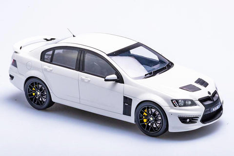 1:18 HSV E3 25TH ANNIVERSARY GTS - HERON WHITE