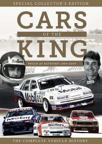 Peter Brock Cars of the King - MORE STOCK ARRIVING JAN 2020