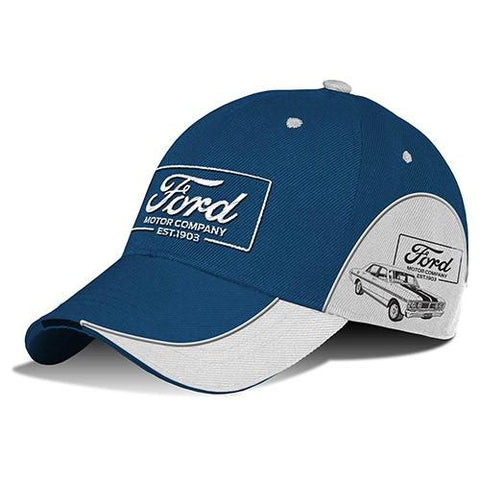 FORD BLUE BASEBALL CAP