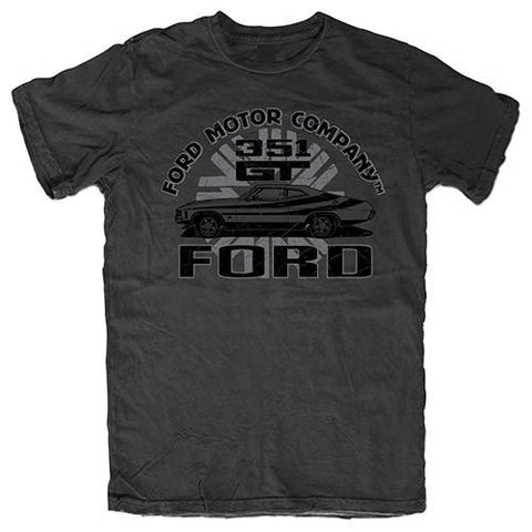FORD 351 GT MEN'S TEE - CHARCOAL