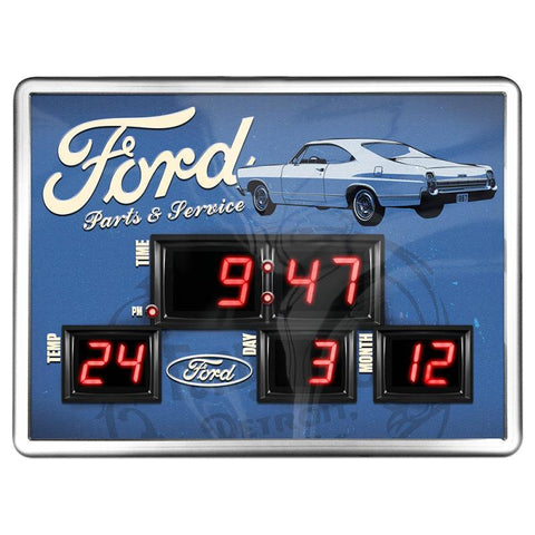 FORD PARTS DIGITAL CLOCK