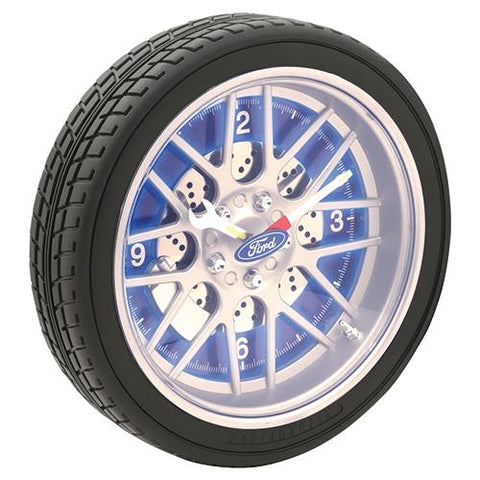 FORD LED TYRE WALL CLOCK