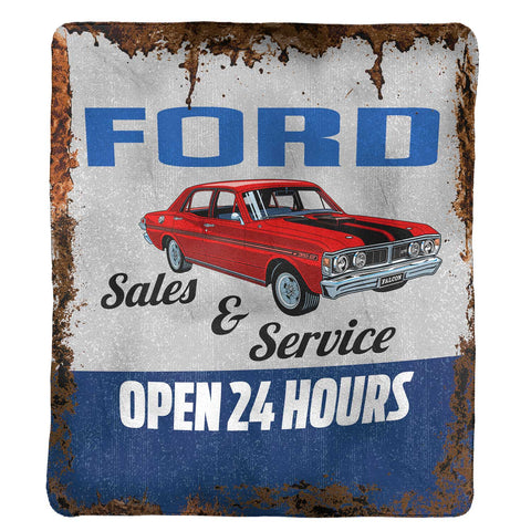 FORD POLAR FLEECE THROW