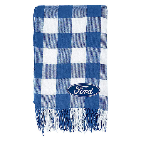 FORD TARTAN THROW