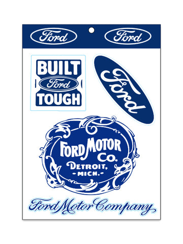 FORD STICKER SET