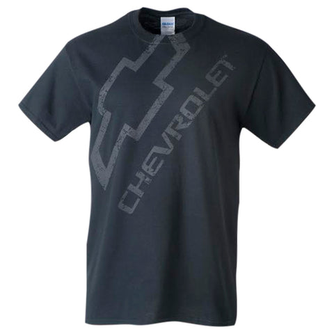 DISTRESSED CHEVY WITH BOWTIE T-SHIRT
