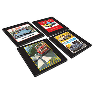 HOLDEN HERITAGE S/4 COASTERS