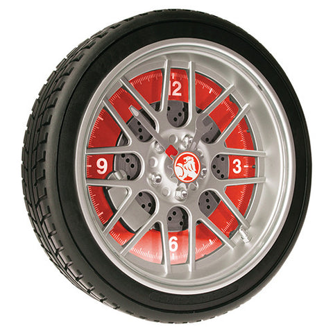 HOLDEN LED TYRE WALL CLOCK