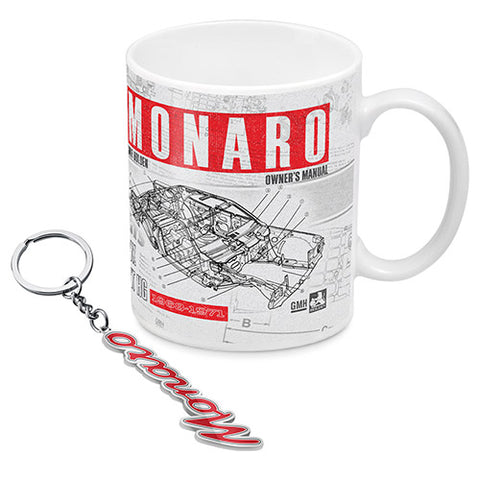HOLDEN MONARO MUG AND KEY RING PACK