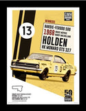 50 YEARS OF BATHURST - FRAMED PRINTS COLLECTORS EDITION